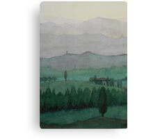 Toscana Mittagssonne Canvas Print