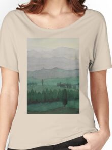 Toscana Mittagssonne Women's Relaxed Fit T-Shirt