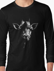 giraffe t-shirt Long Sleeve T-Shirt