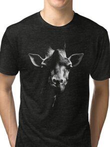 giraffe t-shirt Tri-blend T-Shirt