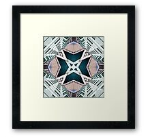 City Buildings Abstract 2 Framed Print