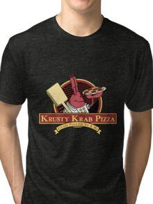 Krusty Krab Pizza Tri-blend T-Shirt