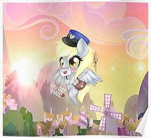 My little pony Derpy Poster