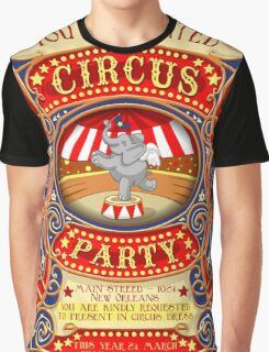 Elephant Circus Party  Graphic T-Shirt
