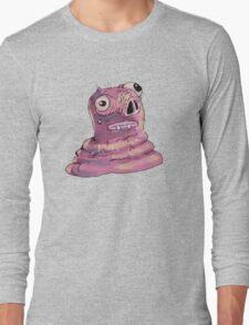 Pink Blob Long Sleeve T-Shirt