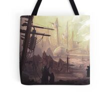Wasteland Journey- The City of Iraxes Tote Bag