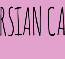 Persian Cat Love Sticker