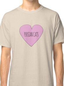 Persian Cat Love Classic T-Shirt