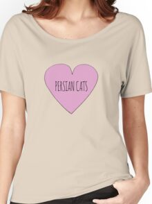 Persian Cat Love Women's Relaxed Fit T-Shirt