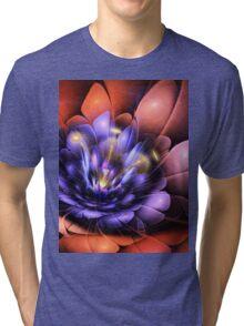 Floral Flame Tri-blend T-Shirt