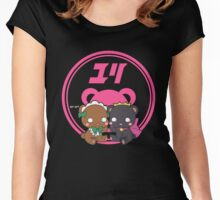 Yuri Kuma Arashi Lulu x Ginko Women's Fitted Scoop T-Shirt