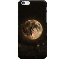 Surreal Moon Climber iPhone Case/Skin