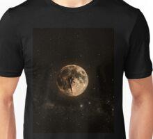Surreal Moon Climber Unisex T-Shirt
