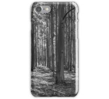 Plantation Pattern (B&W) iPhone Case/Skin