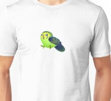 Little Green Budgie Unisex T-Shirt