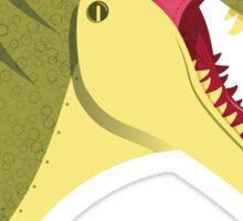 Tyrannosaurus Head Sticker