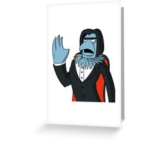 Sam Eagle - Opera Man Greeting Card