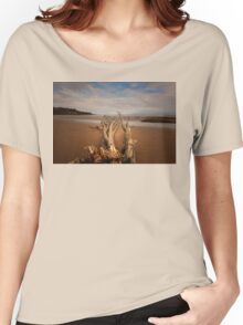 LEFT BY THE OCEAN Women's Relaxed Fit T-Shirt