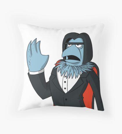 Sam Eagle - Opera Man Throw Pillow