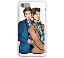 Awkward Prom Doctors iPhone Case/Skin