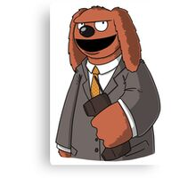 Rowlf The Unfrozen Caveman Laywer Canvas Print