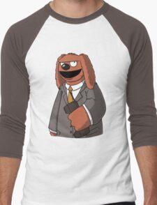 Rowlf The Unfrozen Caveman Laywer Men's Baseball ¾ T-Shirt
