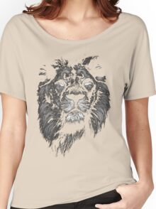 lion, indian lion Women's Relaxed Fit T-Shirt
