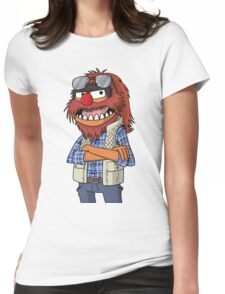 Macgruber - Animal Womens Fitted T-Shirt