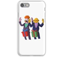 Beaker & Dr Bunsen - Dick in a box iPhone Case/Skin