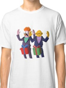 Beaker & Dr Bunsen - Dick in a box Classic T-Shirt