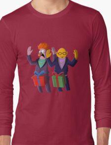 Beaker & Dr Bunsen - Dick in a box Long Sleeve T-Shirt