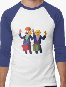 Beaker & Dr Bunsen - Dick in a box Men's Baseball ¾ T-Shirt