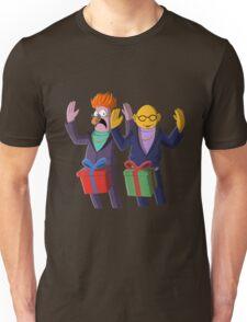Beaker & Dr Bunsen - Dick in a box Unisex T-Shirt