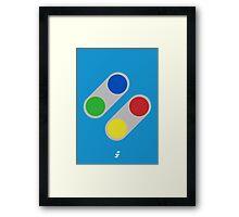 Super Buttons V2.0 Framed Print
