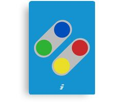 Super Buttons V2.0 Canvas Print