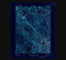USGS TOPO Map Rhode Island RI Pawtucket 353437 1944 31680 Inverted Unisex T-Shirt