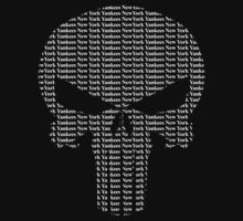 New York Yankees Punisher Logo One Piece - Short Sleeve