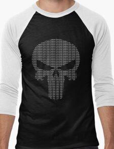 New York Yankees Punisher Logo Men's Baseball ¾ T-Shirt