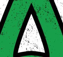 Green Arrow Sticker