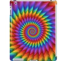 Psychedelic Rainbow Spiral  iPad Case/Skin