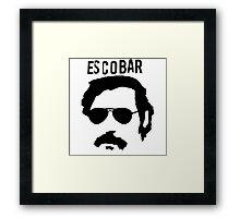 Pablo Escobar Framed Print