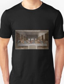 Iconic Leonardo Da Vinci Last Supper Unisex T-Shirt