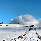 Rolling clouds in the peak district by Avril Harris