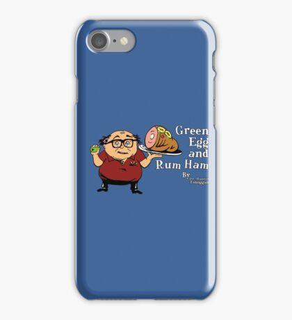 Green Egg and Rum Ham iPhone Case/Skin