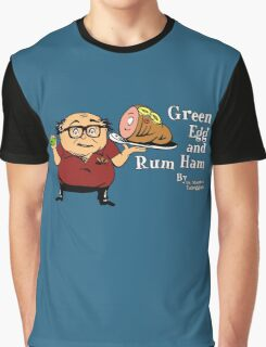 Green Egg and Rum Ham Graphic T-Shirt