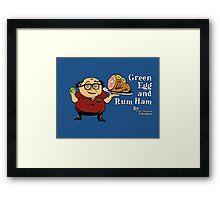 Green Egg and Rum Ham Framed Print