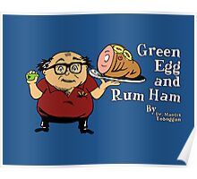 Green Egg and Rum Ham Poster