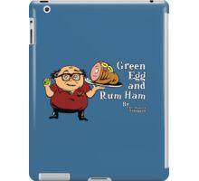 Green Egg and Rum Ham iPad Case/Skin