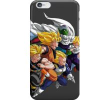 DBZ - SAYAN AND PICOLO iPhone Case/Skin