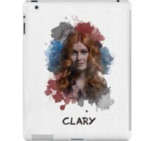 Clary - Shadowhunters - Canvas iPad Case/Skin